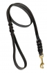 Universal Braided Leather Dog Leash – ½ inch wide