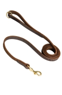 Handcrafted and Stitched Leather Dog Leash